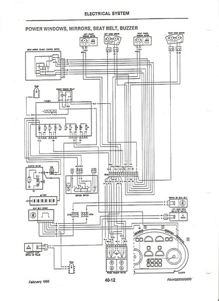 Wiring diagram for electirc wing mirrors?   Alfa Romeo ForumAlfa Romeo Forum