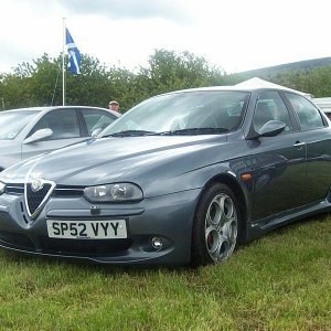 Scottish Italian Car Day 2003