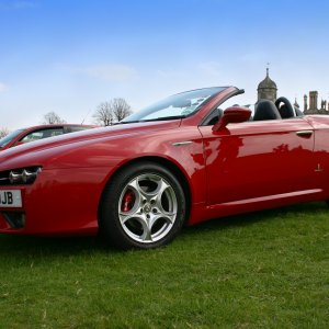 Alfa Romeo Spider Burghley House