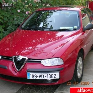 My Alfa 156-The Red Beast !