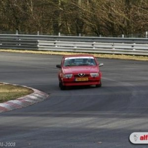 75 TS Nurburgring Nordschleife