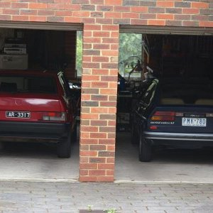 My Alfas In The Garage