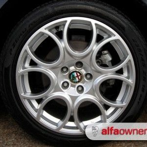 Brera back wheel