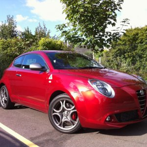 My New Mito Qv Metallic Red