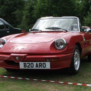 Tifosi 27's S3 Spider At Jaguar Classic Show, Vip Crossford 14 June 2009