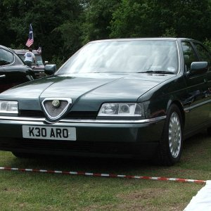 Tifosi 27's 164 3.0 24v Super At Jaguar Classic Show, Vip Crossford 14 June 2009