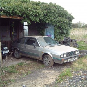 "Sprint 6c - My Donor Car - ""a Very Rusty Sprint - For Spares"""