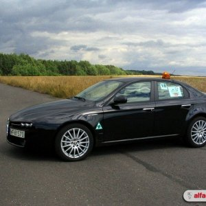 My 159 as a safety car on Alfa Romeo Club trackday.