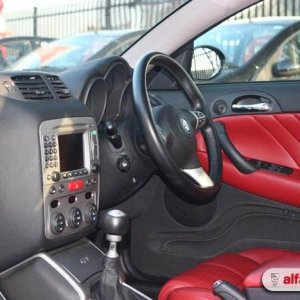 GT interior (red leather/sat nav)