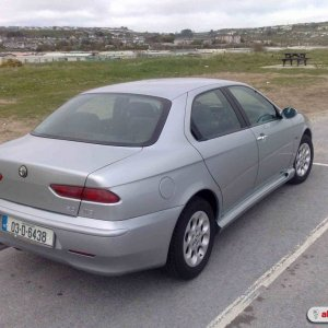 Alfa 156 with Lester GTA sideskirts