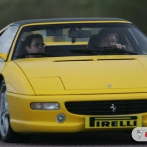 Ferrari 355 at Thruxton