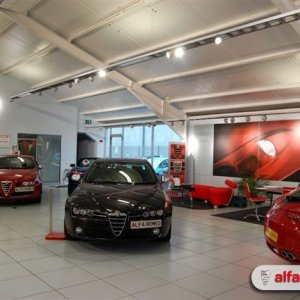 Allams Alfa Romeo Showroom