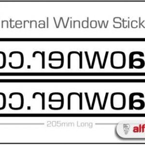 AO Club Stickers - Internal Type