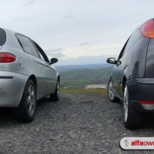 My alfa at Brecon