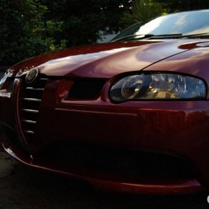 My Alfa 147 GTA look- sleepy eyes :)