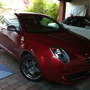 Mito Qv Metallic Red