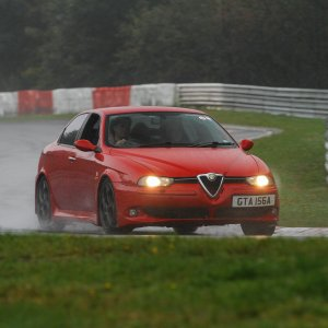 My 156 GTA at the Nurburgring -piloted by Ned from Autolusso