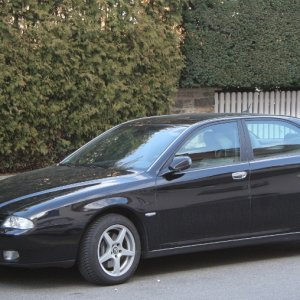 Alfa 166 Super On Wintertyres