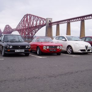 With Friends At Forth Rail Bridge 04/12