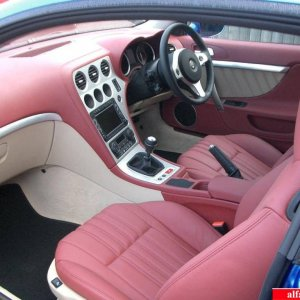 Red Leather Interior